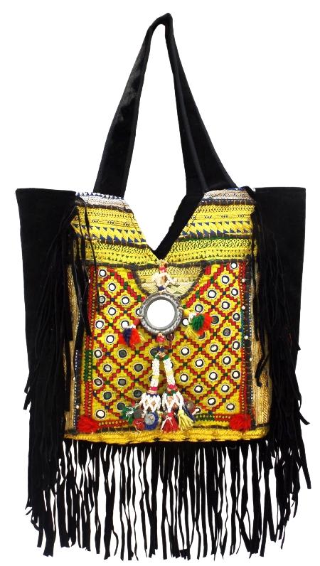 Bohemian Banjara Ethnic Handbag Afghan Purse Hand Embroidery Vintage Bag Gypsy Tribal Messenger