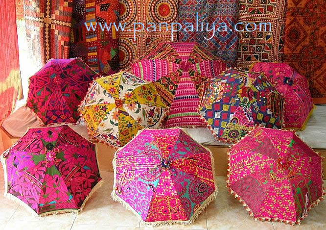 Umbrella Indian Parasols Wholesale Lots Pack