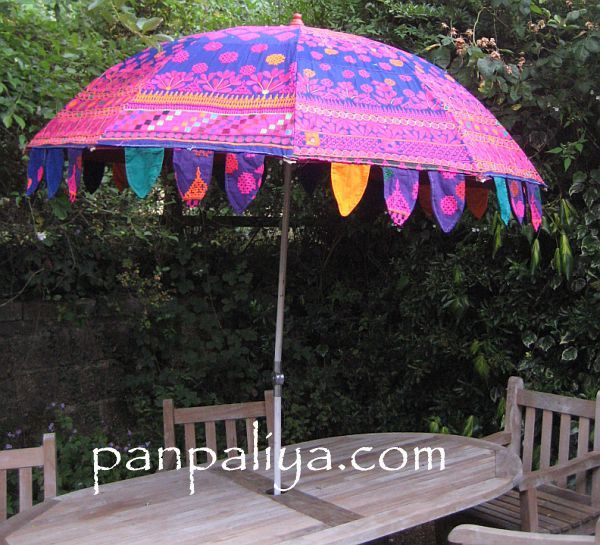 Garden Indian Parasols Umbrella