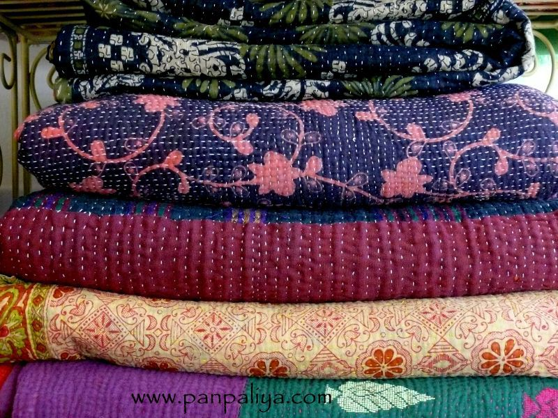 INDIAN VINTAGE KANTHA QUILTS : how to kantha quilt - Adamdwight.com
