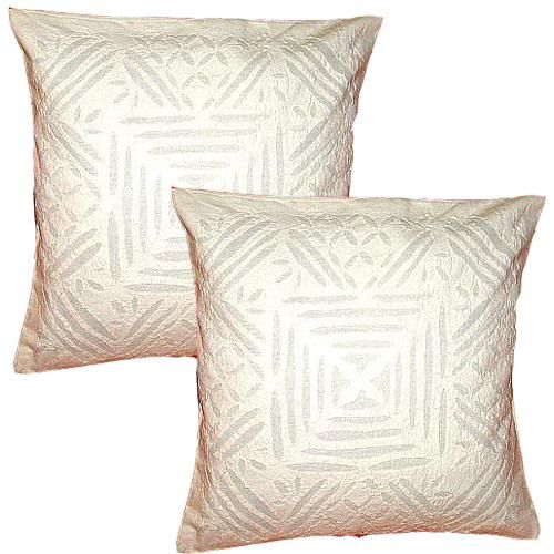 Exclusive Handmade Cushion Pillow Cover In Tribal Style