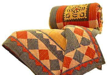 Panpaliya- Exclusive quilts collection- patch applique work cotton ... : quilt india - Adamdwight.com