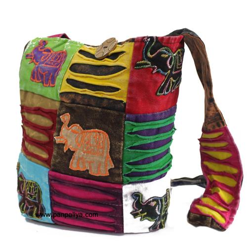 1739fd9b54335 Boho Hippie Sling Bag-Hippie Beach Handbag