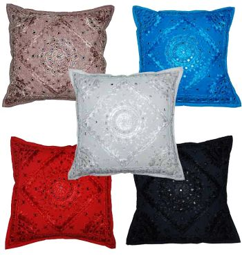 Wholesale Lots Cushion Covers Assorted Lots Bohemian Indian Cushion