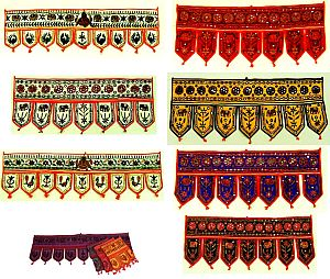 Bohemian Home Decor Valances India  Wall Hangings  Door Hangings Wholesale  Lots