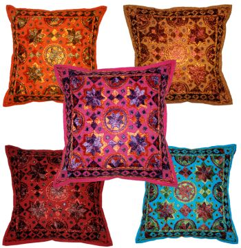 Wholesale lots cushion covers assorted lots bohemian indian